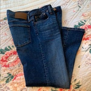 J. Crew Mercantile Cropped Flared Jeans